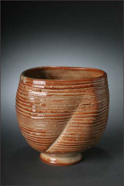 nutmeg ribbed cup