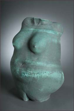 turquoise body pot front