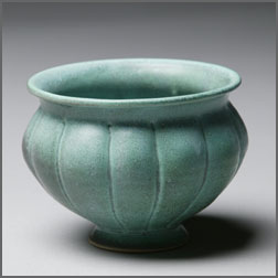 Scalloped Bowl - Turquoise